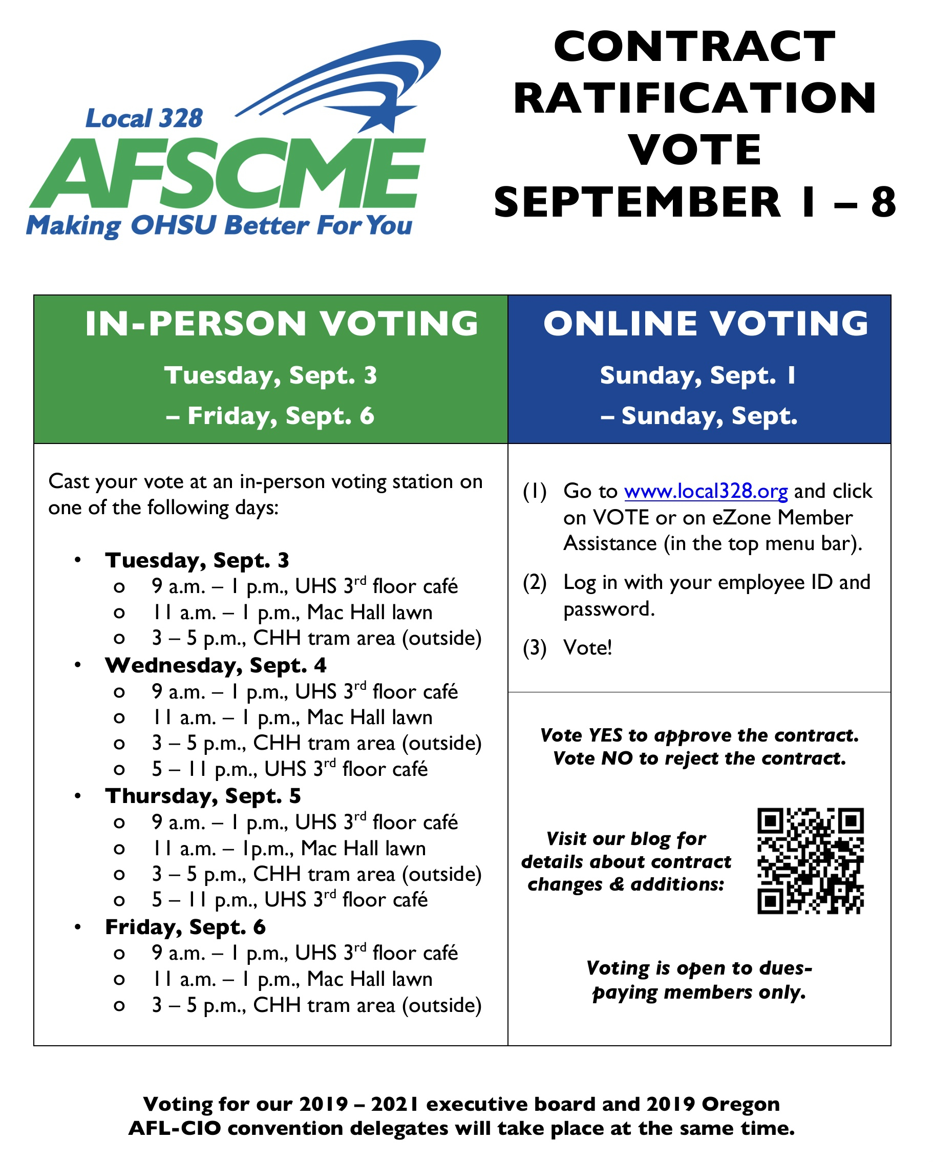 August | 2019 | Local 328, News And Comment for Afscme Council 5 Payroll Calendar