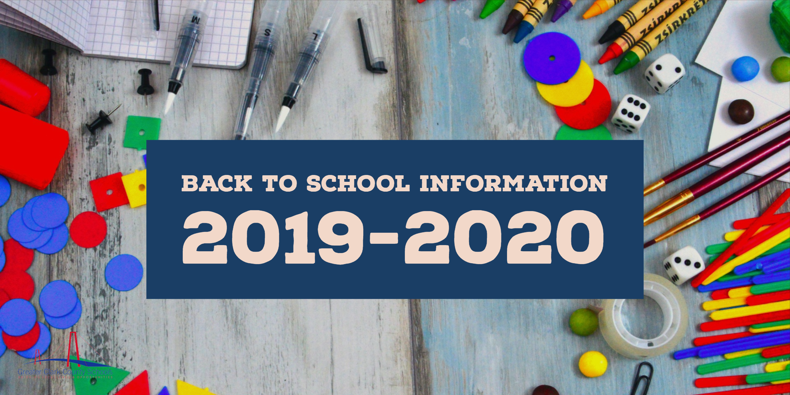 Back To School Information 2019-2020 – Greater Clark County with Ccsd Payroll Calendar 2020-20