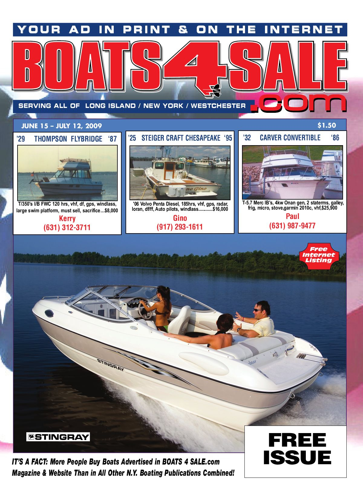Boats4Sale June 15 - July 12, 2009 By Boats4Sale for Slps Payroll Calendar 2020-20