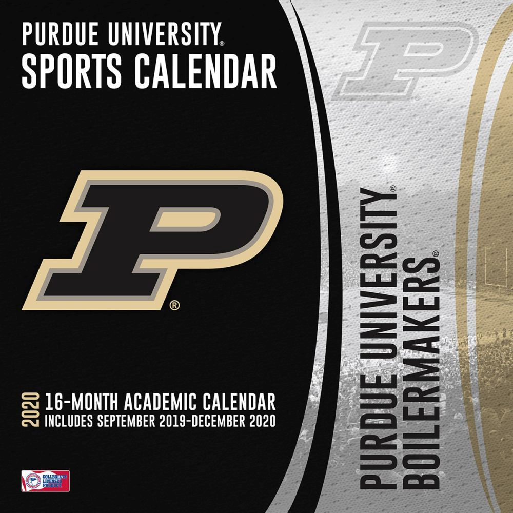 Calendarsdotcom: 2020 Purdue Boilermakers Wall Calendar, By Turner  Licensing | Rakuten with regard to Purdue Payroll Calendar 2020