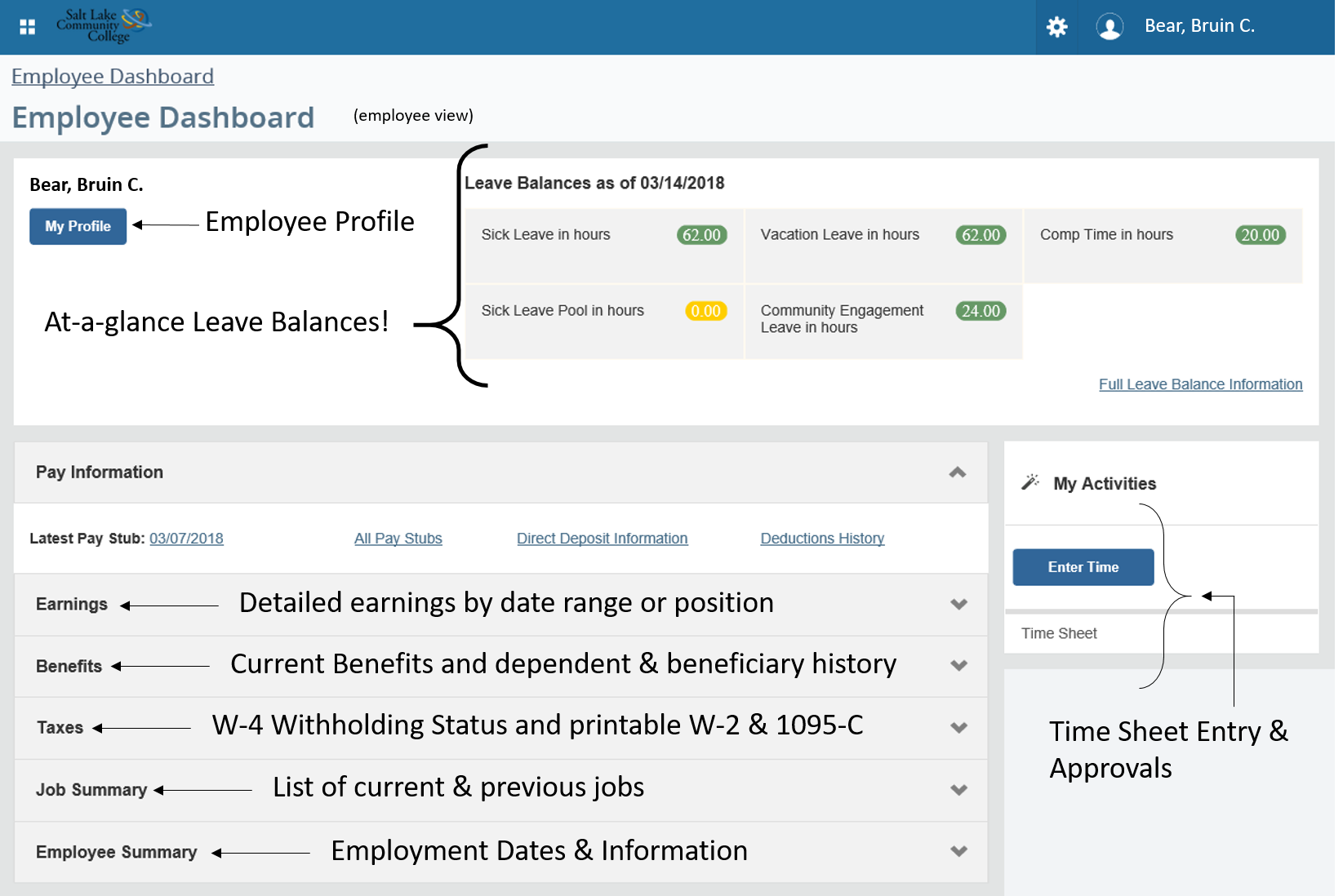 Employee Information And Benefits | Slcc with Payroll Calendar Slcc