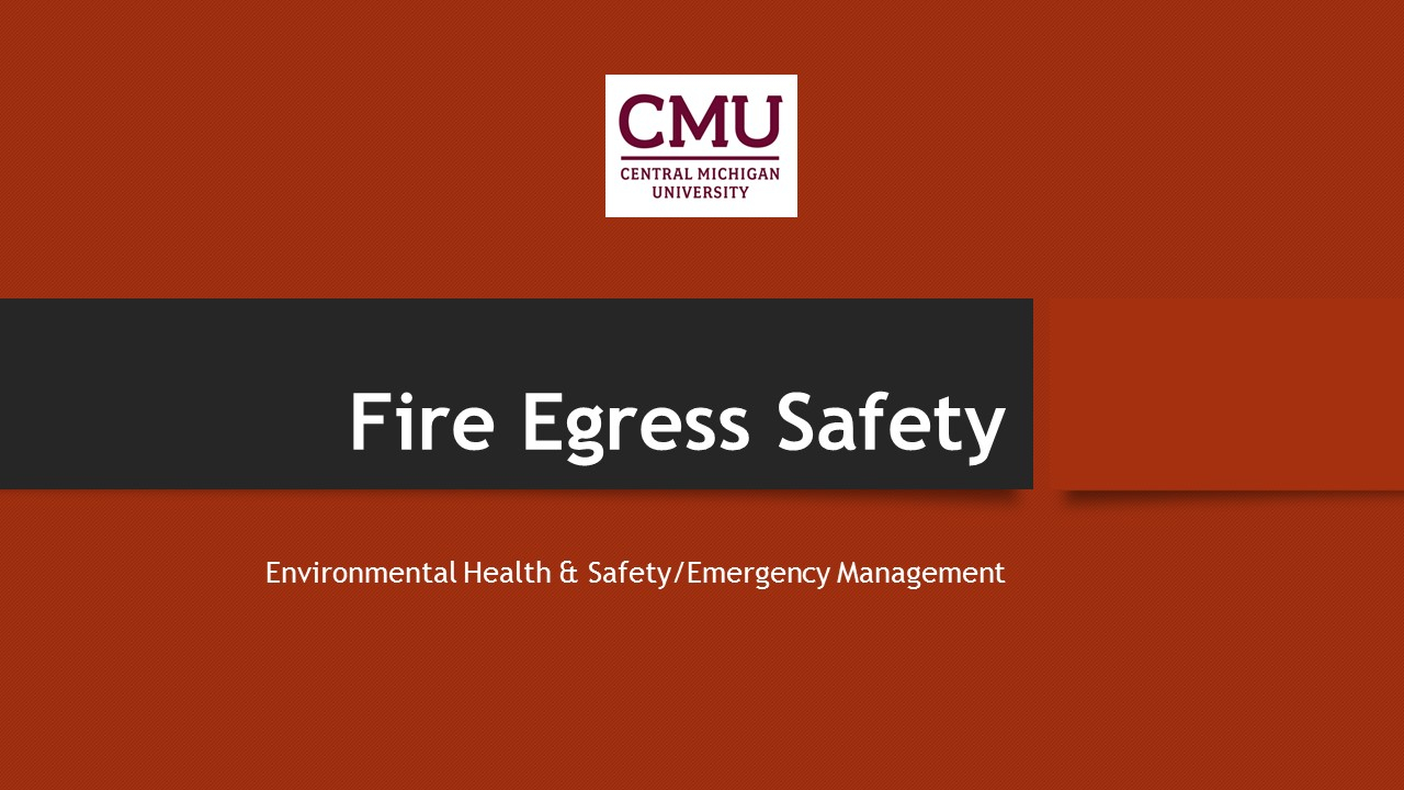 Environmental Health & Safety | Central Michigan University intended for Payroll Calendar Cmu