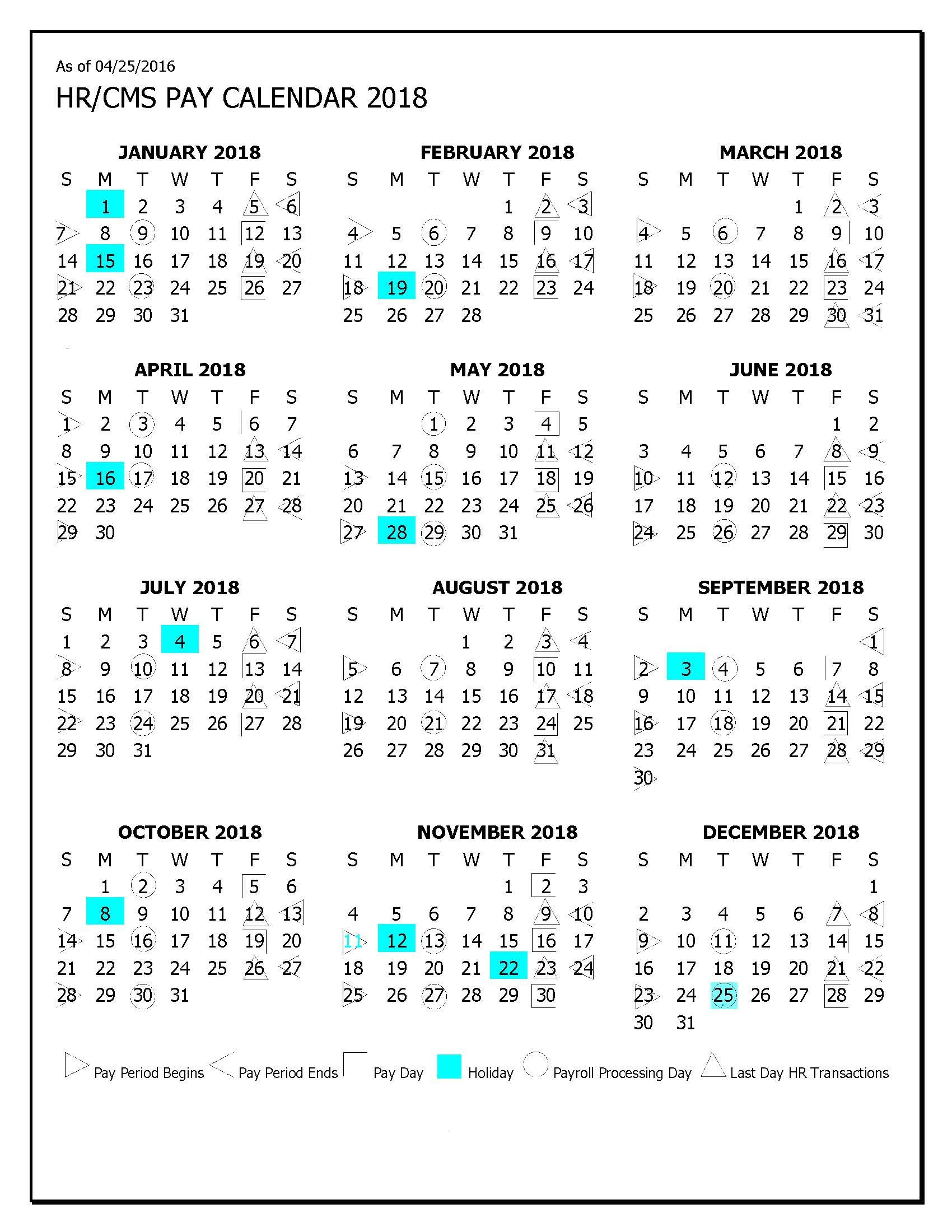 Hhs Payroll Calendar 2017 To Download Or Print in Hhs Payroll Calendar 2020