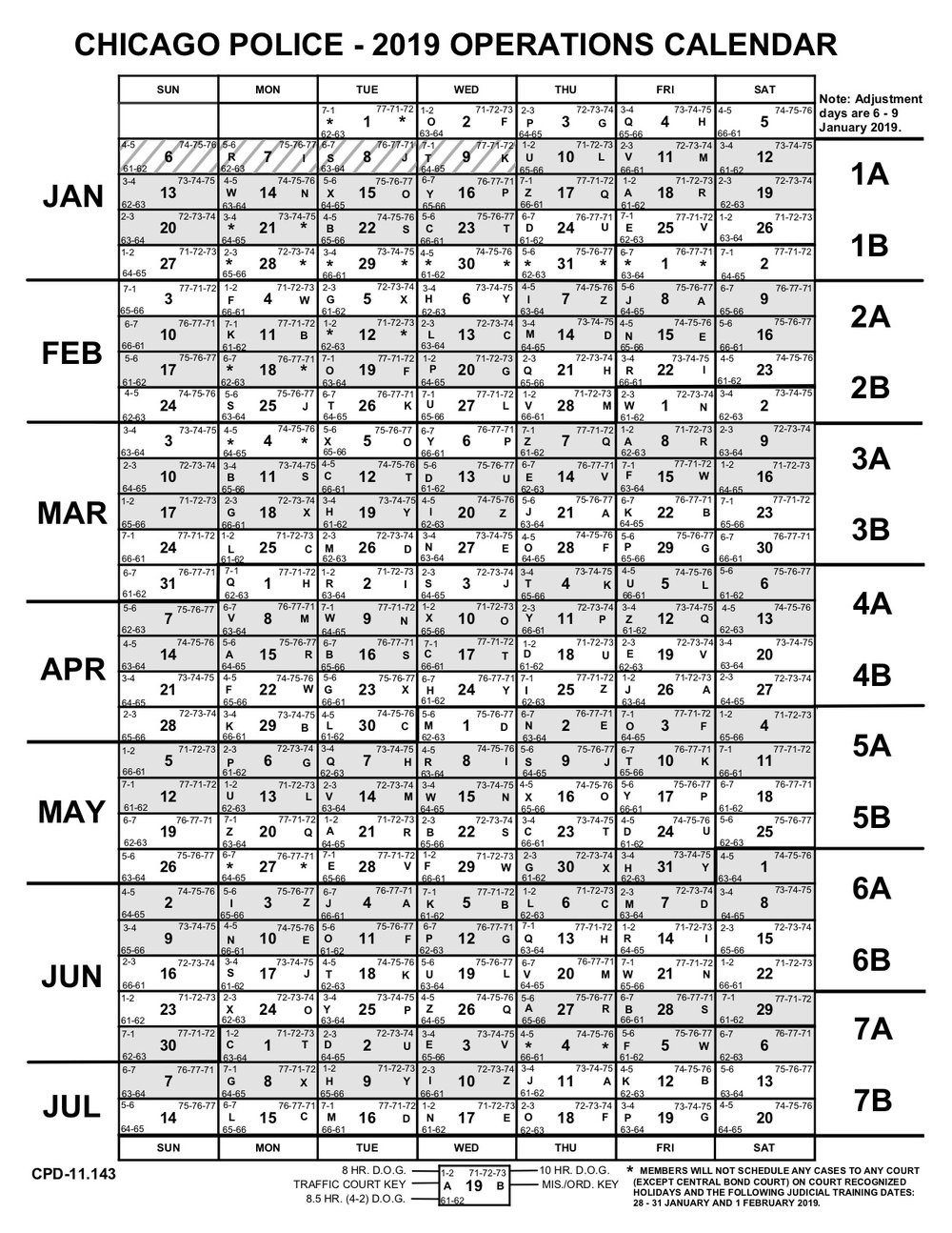 Operations Calendars — Fraternal Order Of Police | Chicago pertaining to Cps Payroll Calendar 2020