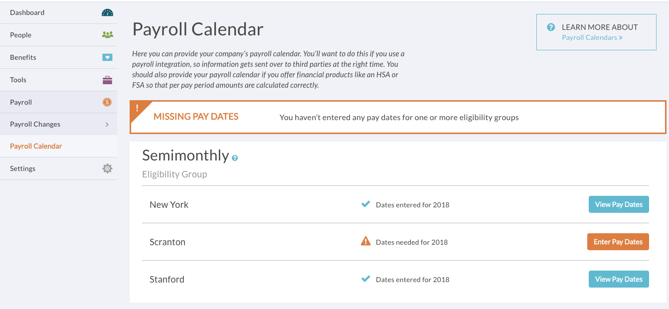 Set Up Your Payroll Calendar – Support within Payroll Calendar Example
