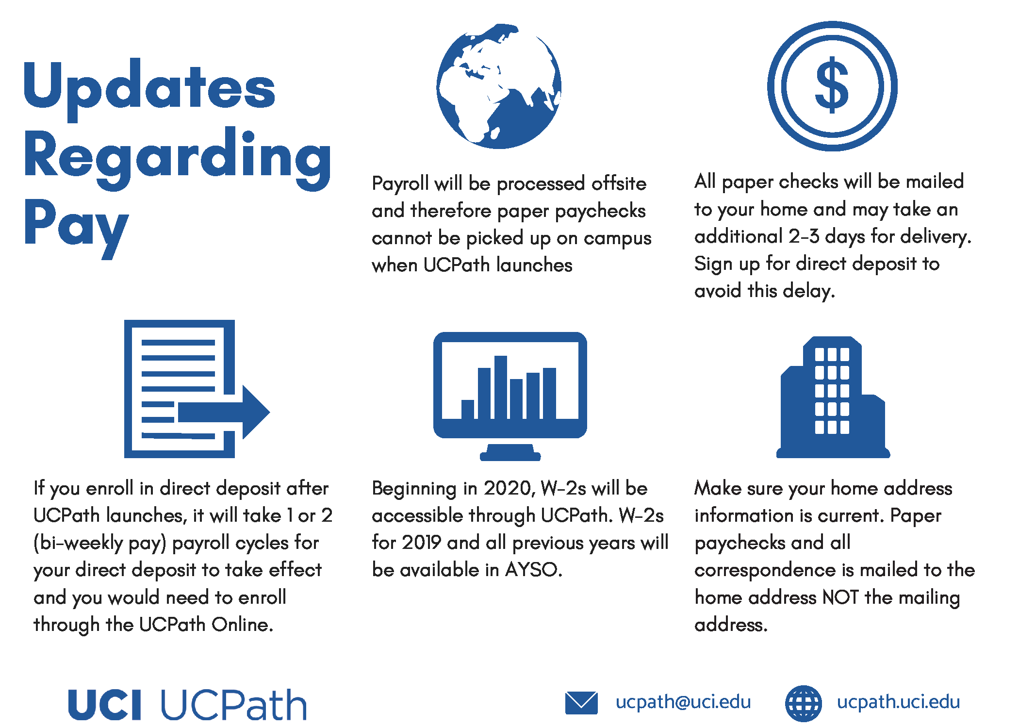 Ucpath Homepage | Ucpath | Uci intended for Uc Irvine Payroll Calendar 2020