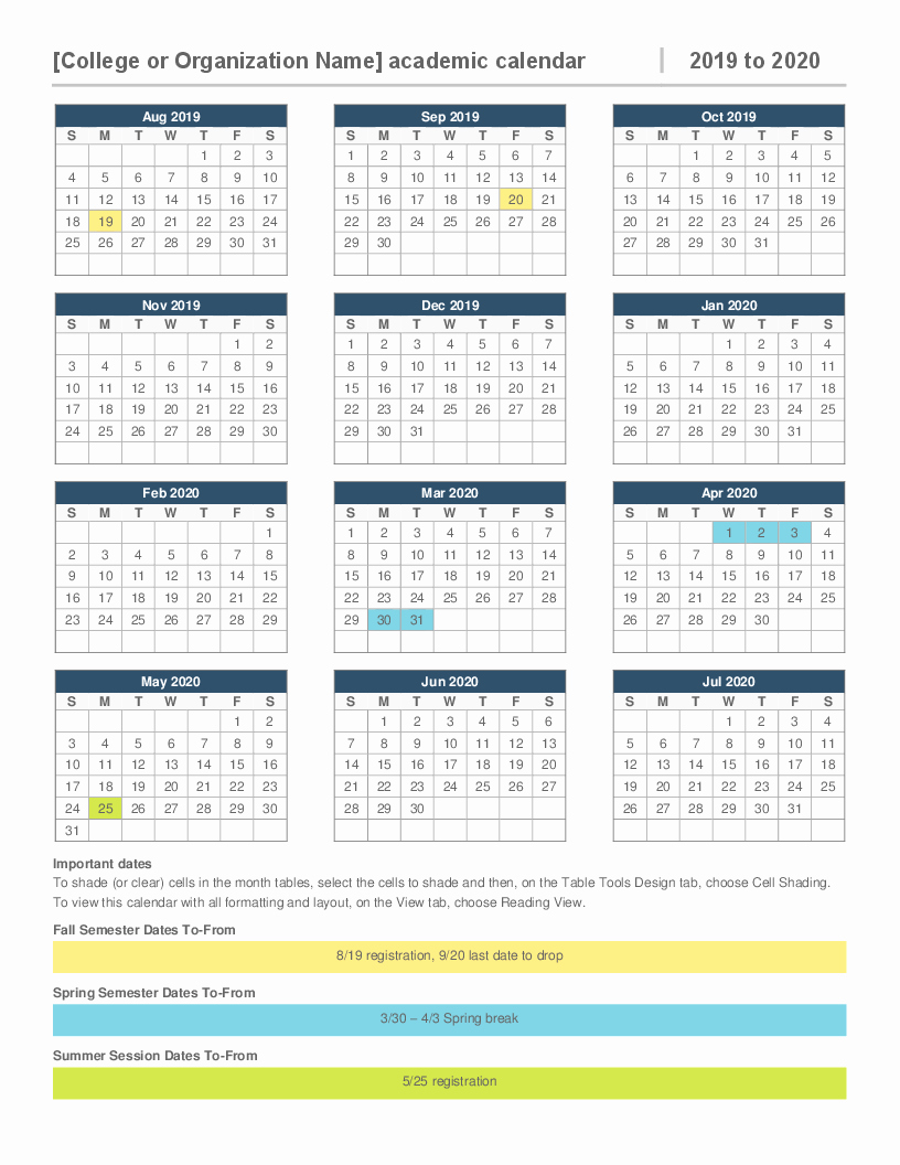 Unique 25 Examples Cms 2019 Calendar | Blank & Printable within Intuit Payroll Calendar 2020