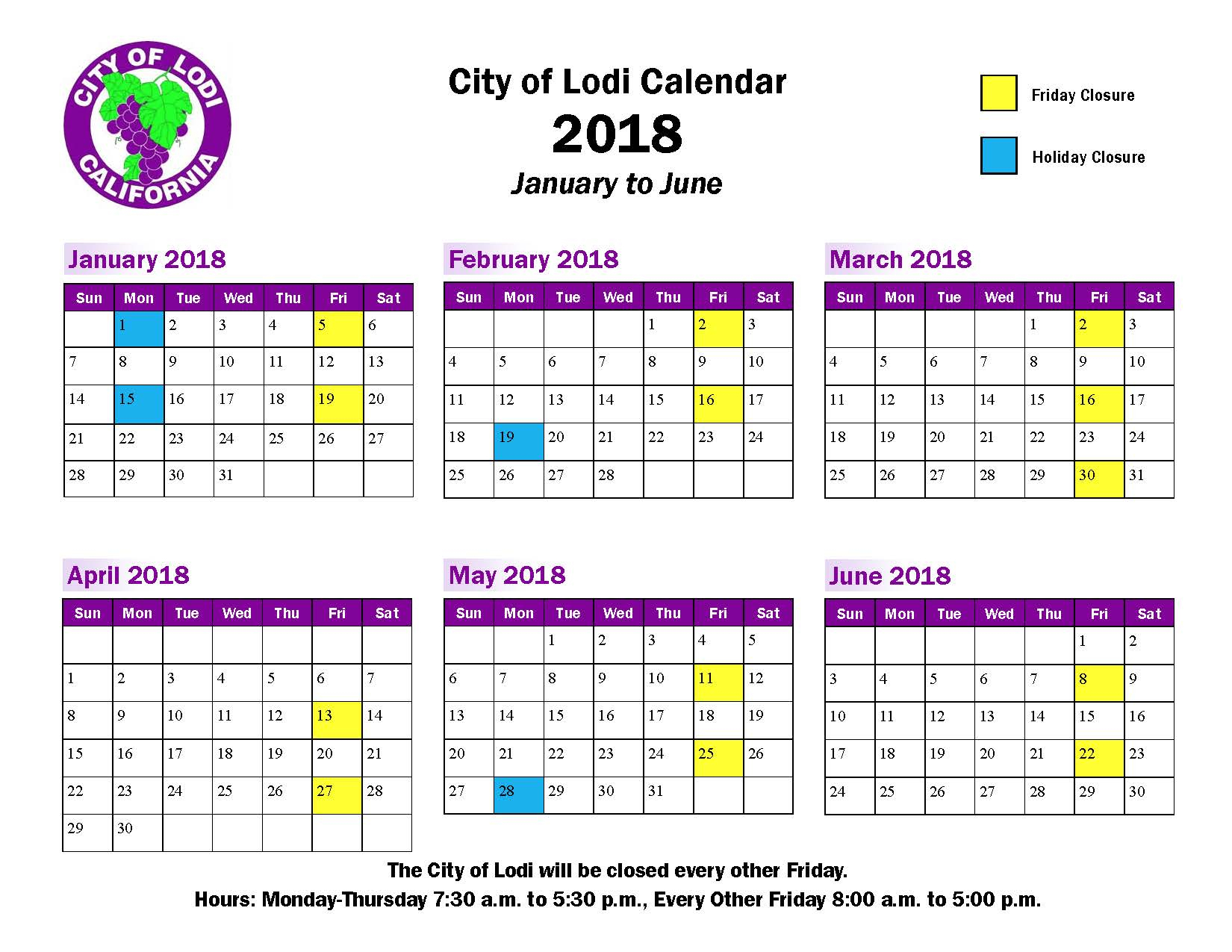 Welcome To The City Of Lodi In Cal State La Payroll Calendar for Payroll Calendar Cal State La