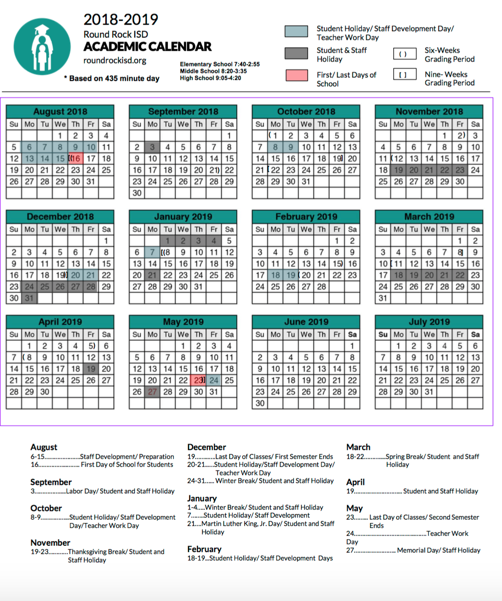 What You Need To Know About The Rrisd Academic Calendars For inside Rrisd Payroll Calendar